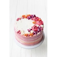 Colorful Flower Cake - 1.5Kg